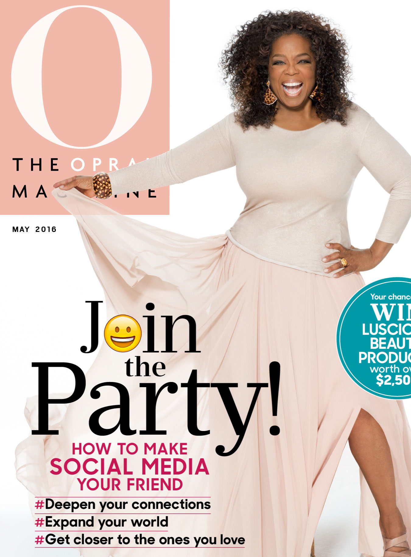 O The Oprah Magazine Cover May 2016