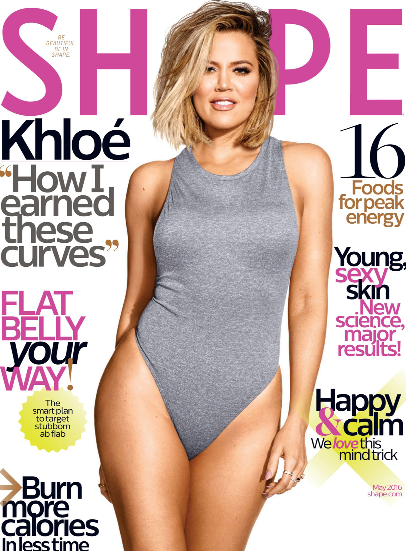 Shape Magazine Cover May 2016
