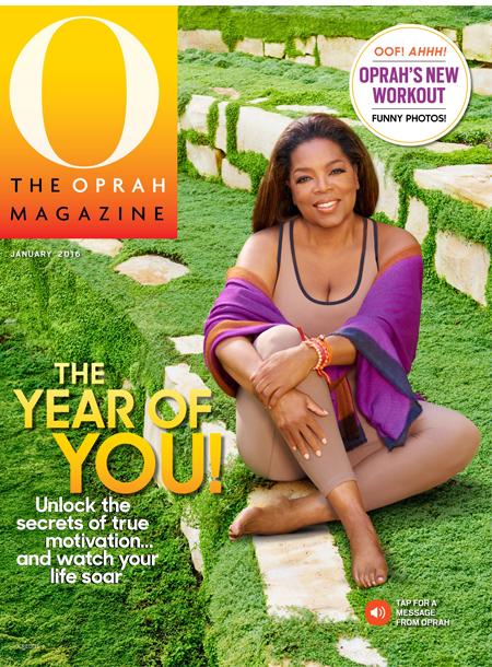 The Oprah Magazine masthead, January 2016
