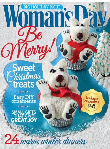 Woman's Day masthead, December 2015
