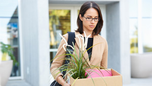 woman dealing with multiple layoffs