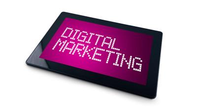 Tablet Fundamentals of Digital Marketing