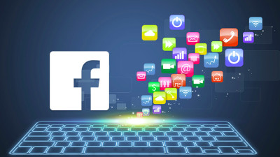 Keyboard Facebook Marketing