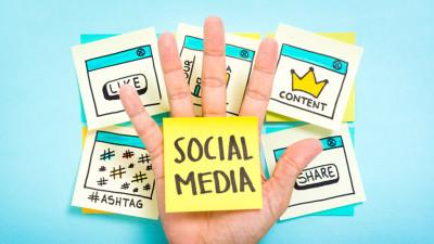 Illustration of Social Media Strategy