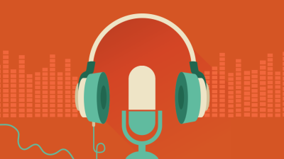 Headphones Microphone Podcasting