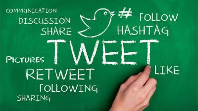 Chalkboard Twitter Marketing
