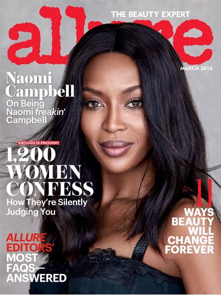Allure magazine cover march 2016