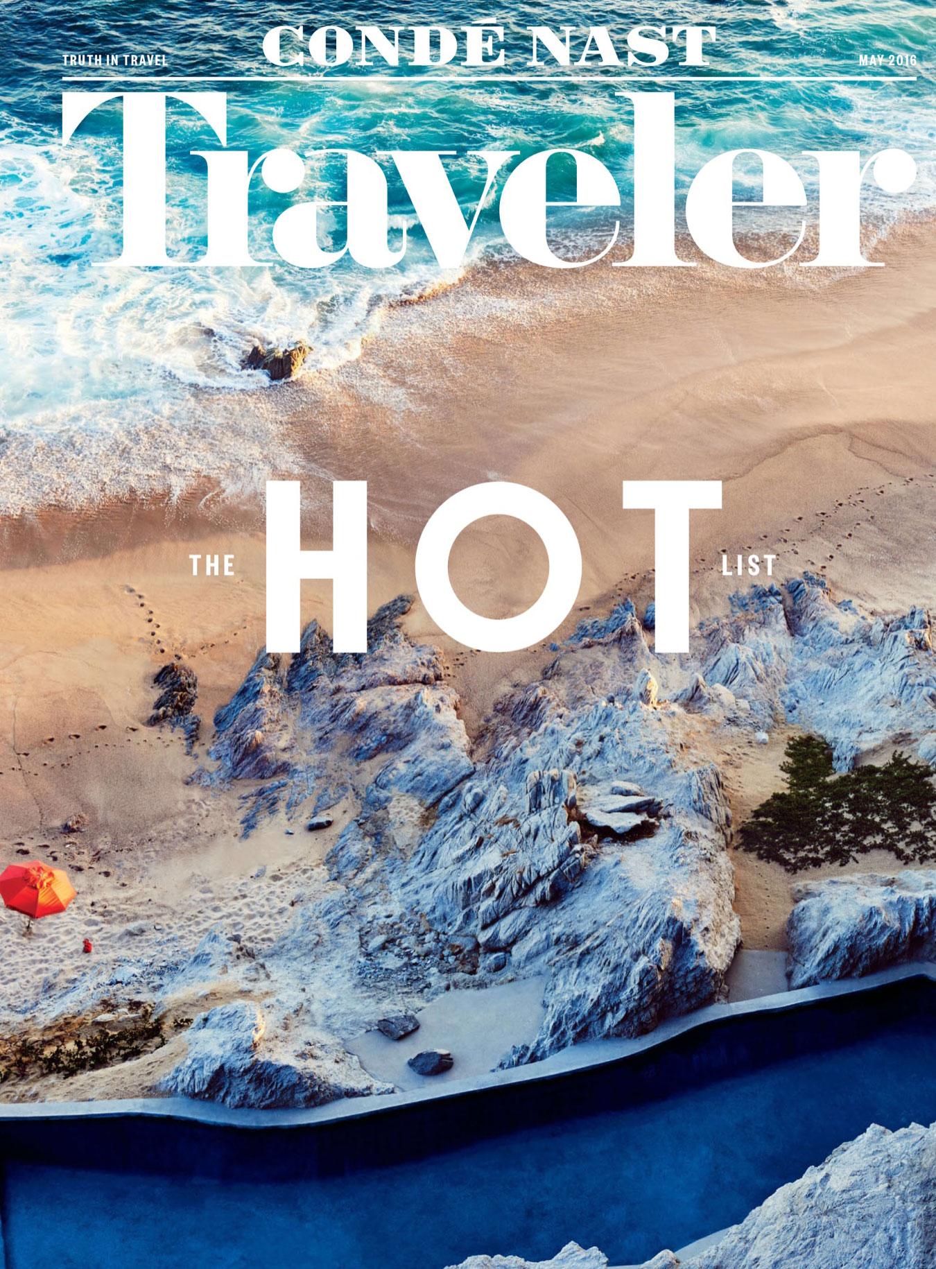 Conde Nast Traveler May 2016