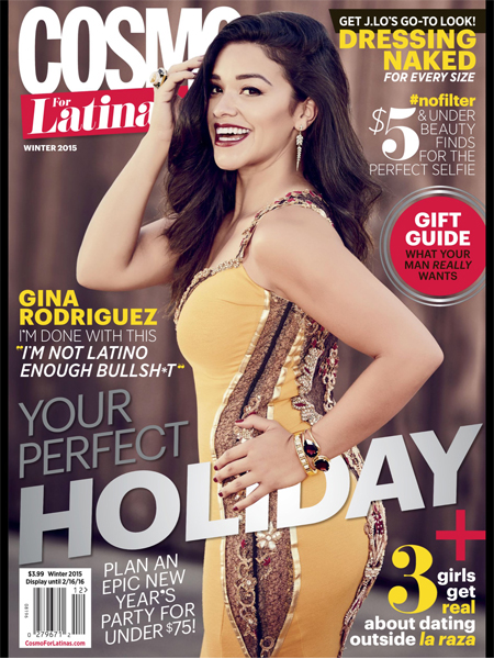 Cosmo For Latinas masthead, Winter 2015