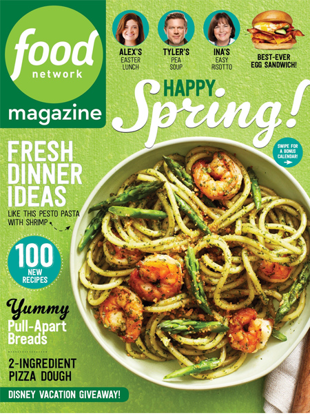 Food Network magazine masthead april 2016
