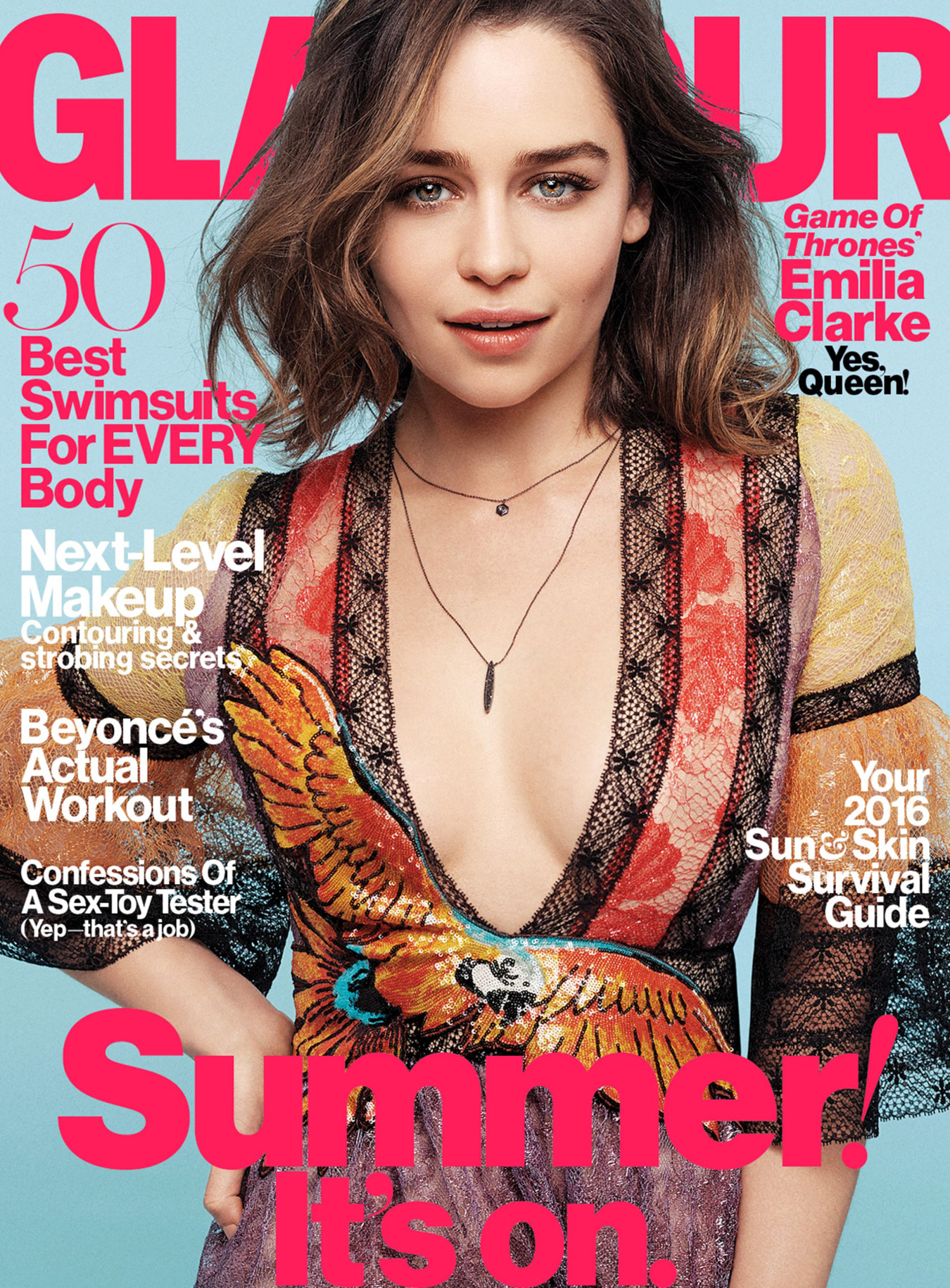 Glamour Cover May 2016