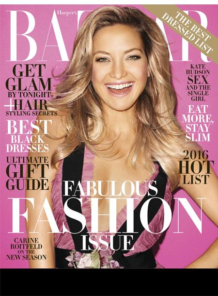 Harper's Bazaar masthead, December 2015