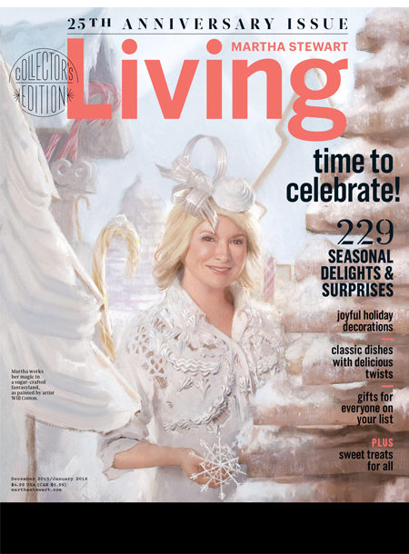 Martha Stewart Living masthead, December/January 2016