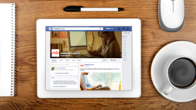 Tablet Facebook Marketing