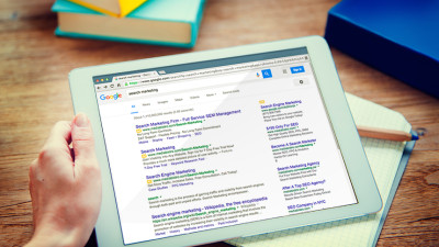 Tablet Search Google Search Marketing