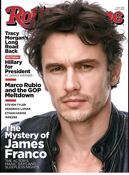 Rolling Stone magazine cover april 2016