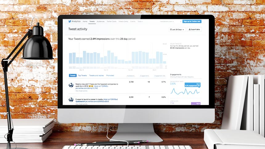 Online Course – Skills in 60: Twitter Analytics and Goal Setting
