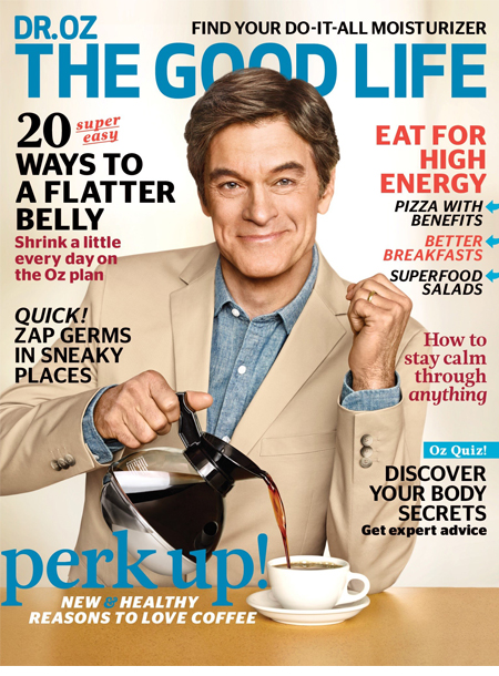 Dr Oz masthead cover april 2016