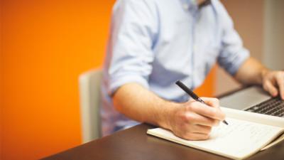 freelancer editing a client draft