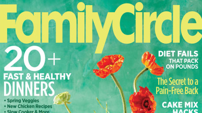 Family Circle Cover May 2016