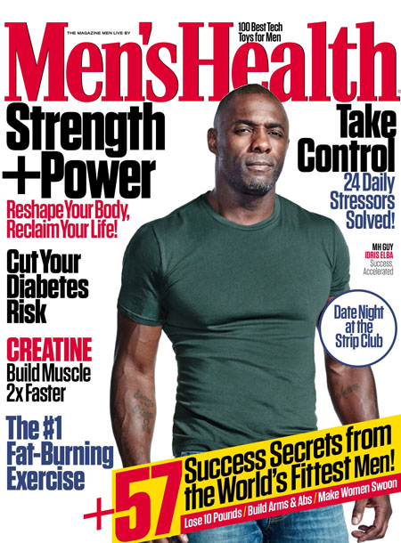 Men's Health masthead, December 2015