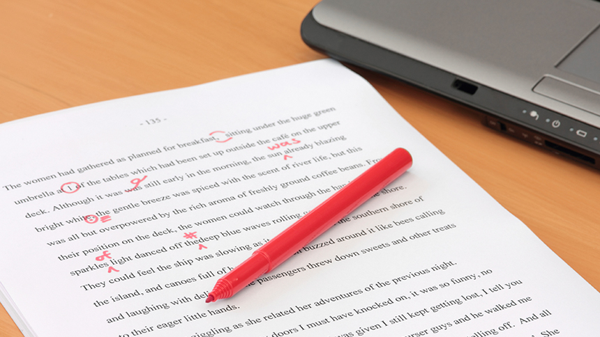 Red Pen for Copyediting Intro