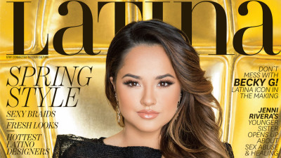 cover of march 2016 Latina magazine