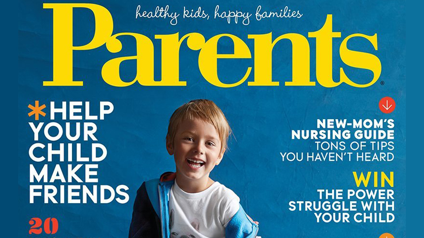Parents magazine cover