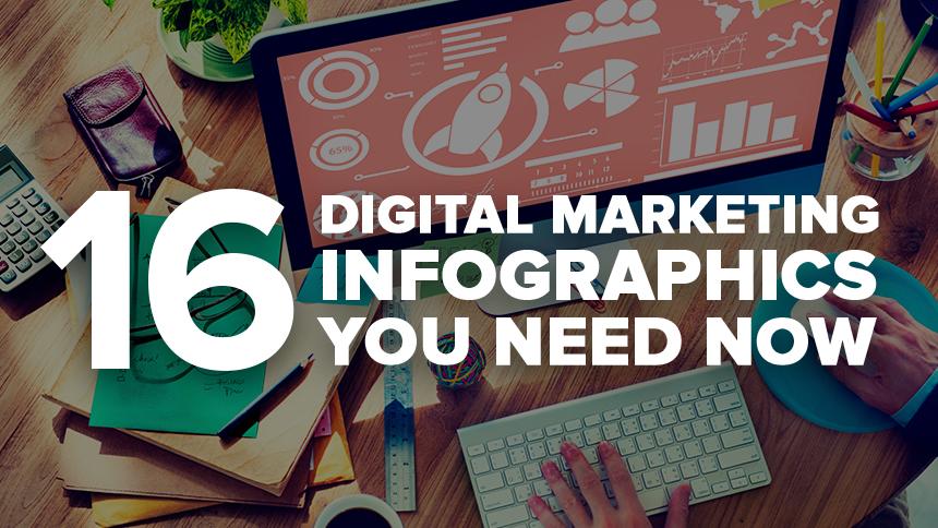 16 Digital Marketing Infographics You Need Now