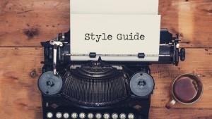 typewriter style guide