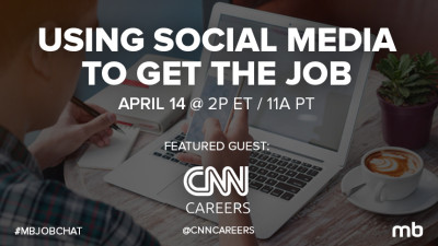 Find a job with social media