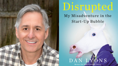 Dan Lyons new book cover disrupted