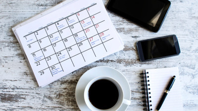 Calendar Coffee Notebook Learn to Plan Successful Events