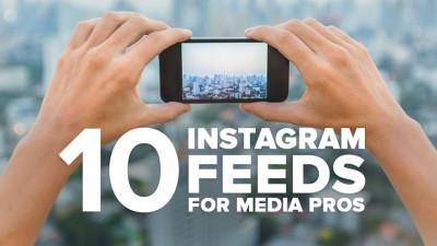 Instagram feeds for media pros.