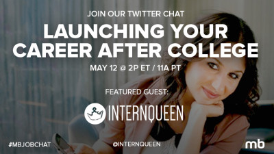 #MbJobChat launching your career after college