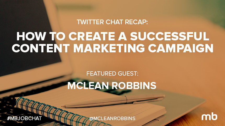 mbjobchat recap  create successful content marketing