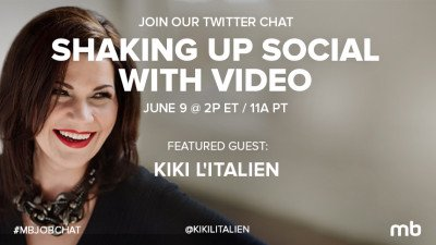 #MBJobChat on social video