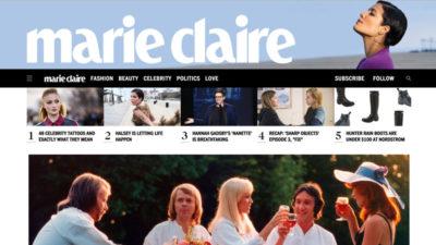 MarieClaire.com Homepage